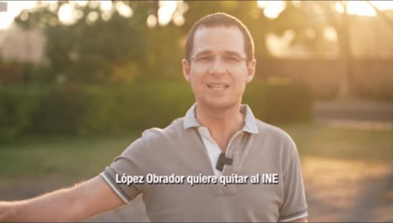 """""""López Obrador quiere quitar al INE y tomar el control de las elecciones"""": Ricardo Anaya 1"""