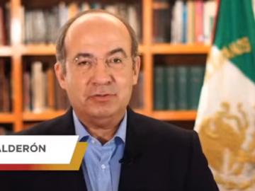 """Pide Felipe Calderón no promover la polarización, """"ni de broma"""" 7"""