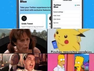 Twitter lanza su servicio de suscripción ´Twitter Blue' y usuarios reaccionan (mejores memes) 7