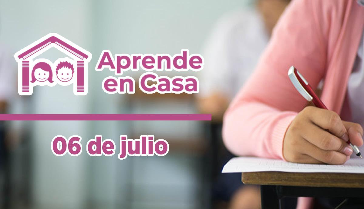 06 de julio aprende en casa