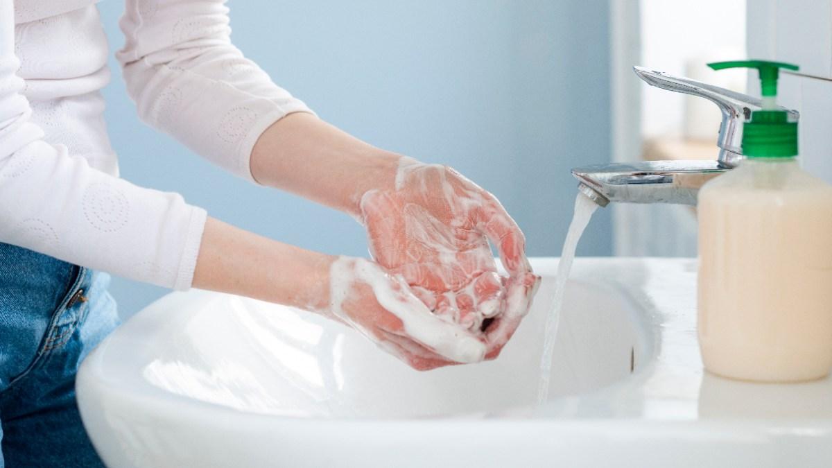 Pasos para el lavado de manos
