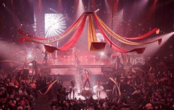 La Megaiglesia HillSong se convirtió en un Circo real