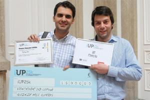 O TerMonitor, um sistema que aplica a termografia à Medicina, criado por estudantes de Medicina e Engenharia da U.Porto, venceu o iUP25k em 2012.