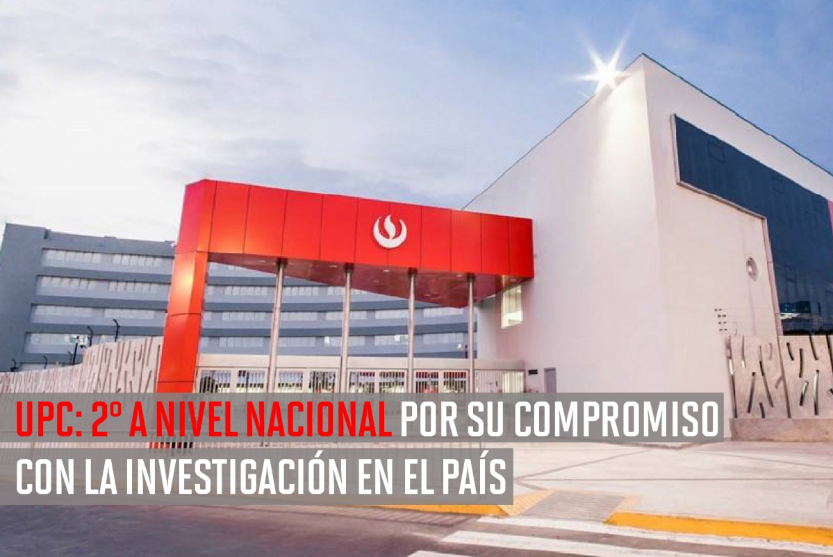 Scimago Institutions Rankings: UPC entre las top 100 de Latinoamérica en Investigación y #2 en Perú