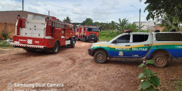 Urgente; Criança de 4 anos perde a vida em incêndio a residência em Cacoal; Veja o Vídeo