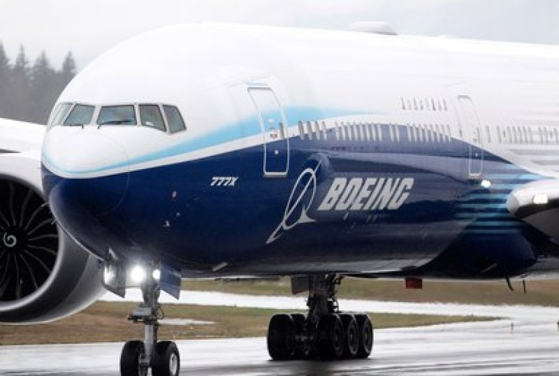 Boeing 777X. REUTERS/Lindsey Wasson/File Photo