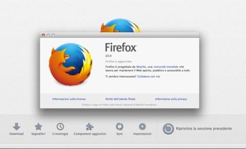 Firefox 23 disponible para su descarga