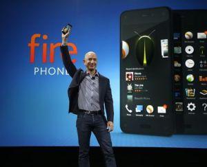 Bezos lleva Amazon a la telefonía móvil