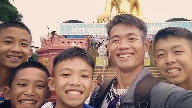 niños atrapados en tailandia