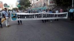 protesta de corpoelec
