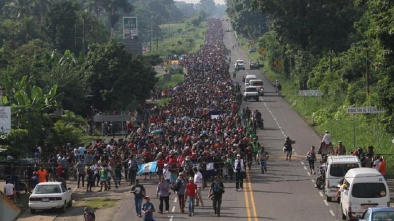 caravana-hondureños