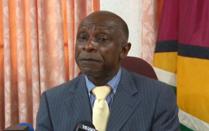 Guyana-presidente