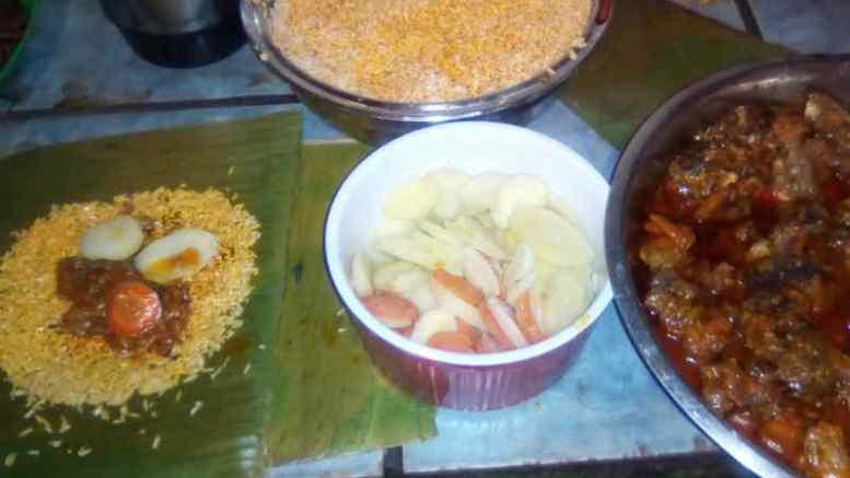 Hallacas-arroz