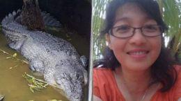 cocodrilo que se comio a una cientifica en indonesia