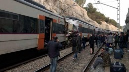 accidente en tren de barcelona