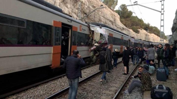 accidente en tren de barcelona