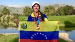 venezolanos golfistas