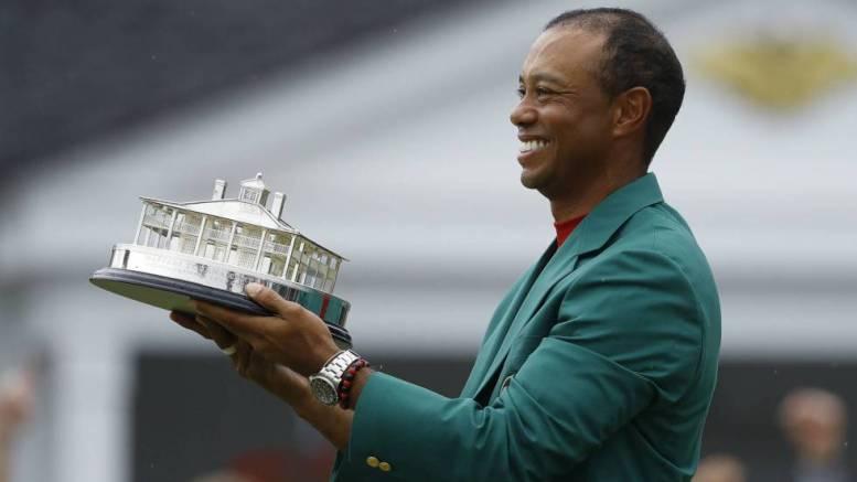 Tiger Woods gana Masters de Augusta