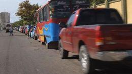 Colas por gasolina en Maracaibo