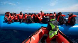 migrantes del mediterraneo
