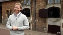 principe harry anuncia el naciemiento del bebe real