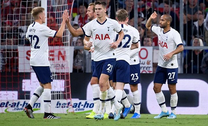 El Tottenham derrotó al Bayern Múnich