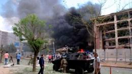 explosion en hotel de somalia