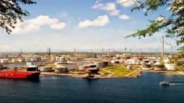Refinería Isla Curazao