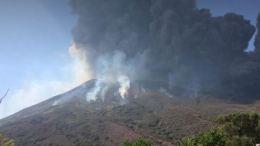 erupcion volcan en sicilia