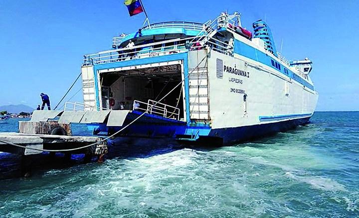 ferry paraguana