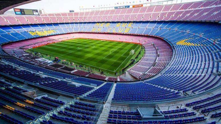Estadio Camp Nou de Barcelona