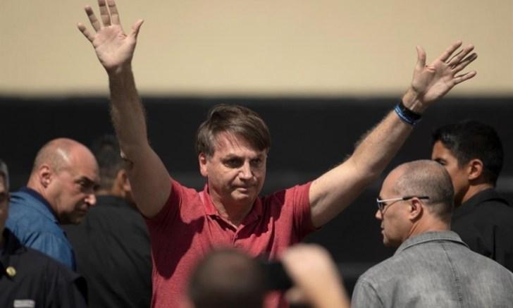 Bolsonaro promueve protestas contra la cuarentena