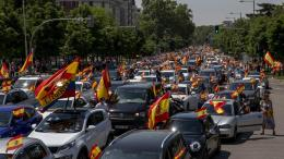 Protesta Madrid