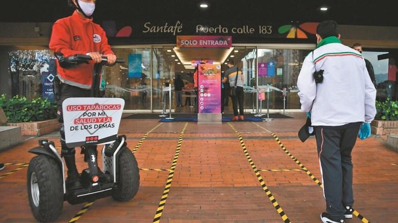 Centro Comercial Santa Fe en Bogotá