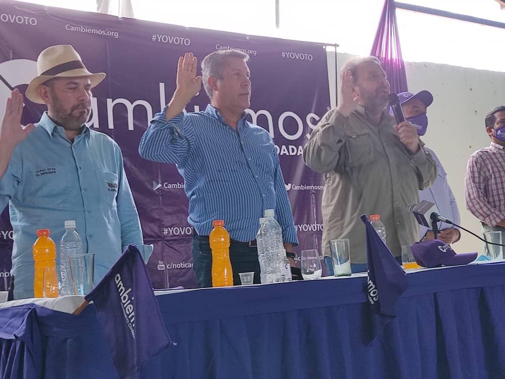 Timoteo Zambrano y Henri Falcón
