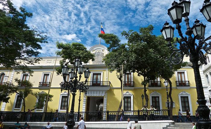 Cancillería venezolana La Casa Amarilla