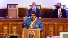 Mensaje anual del Presidente Maduro a la Asamblea Nacional