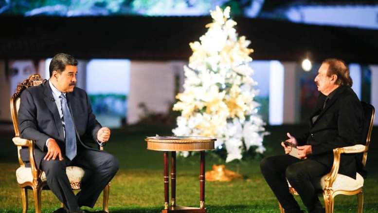 Nicolás Maduro entrevistado por Ignacio Ramonet