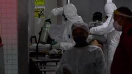 crisis de oxígeno en Manaos