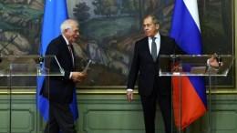 Borrell y Lavrov