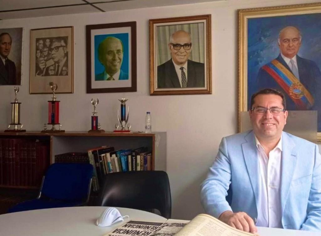 Dirigente adeco Negal Morales