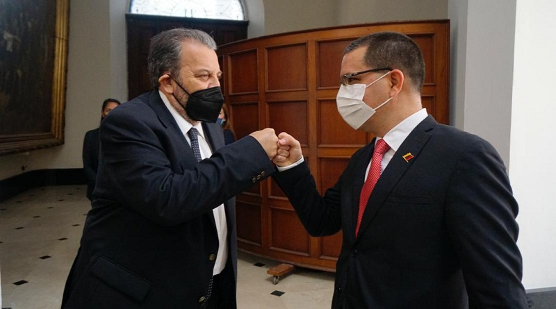 Timoteo Zambrano y Jorge Arreaza