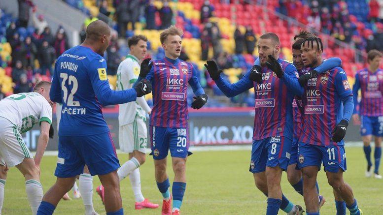 Salomon Rondón en el CSKA