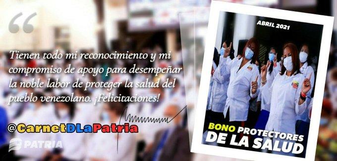 Bono Protectores de la Salud