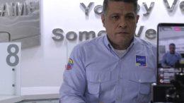Gustavo Vizcaino Director del Saime