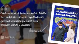 Bono Barrio Adentro
