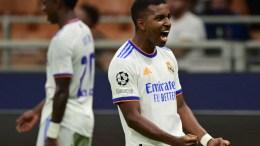 Rodrygo anota el gol del triunfo del real Madrid ante Inter en la Champions