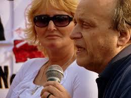 Sofia Gatica (Madres de ituzaingo -Cordoba-) y Andres Carrasco
