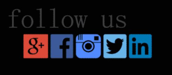 Cadastre seu perfil nas redes sociais