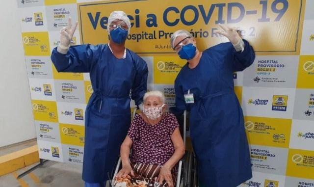 Evangélica de 88 años Agradece a Dios